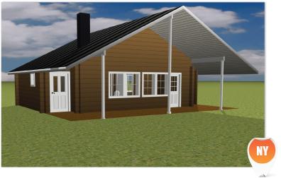 Nyckelfärdigt hus 70 kvm